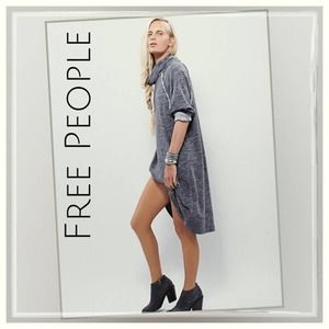 Free People Beach Terri Cocoon Cowl Neck Dress